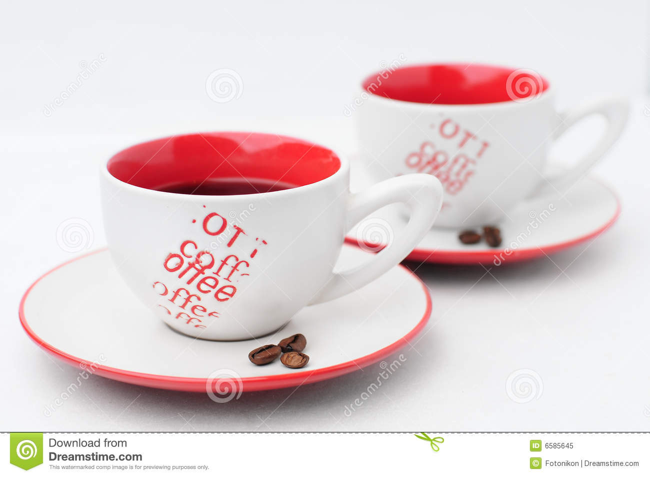 couple of coffee cup stock image image of close cappuccino 6585645