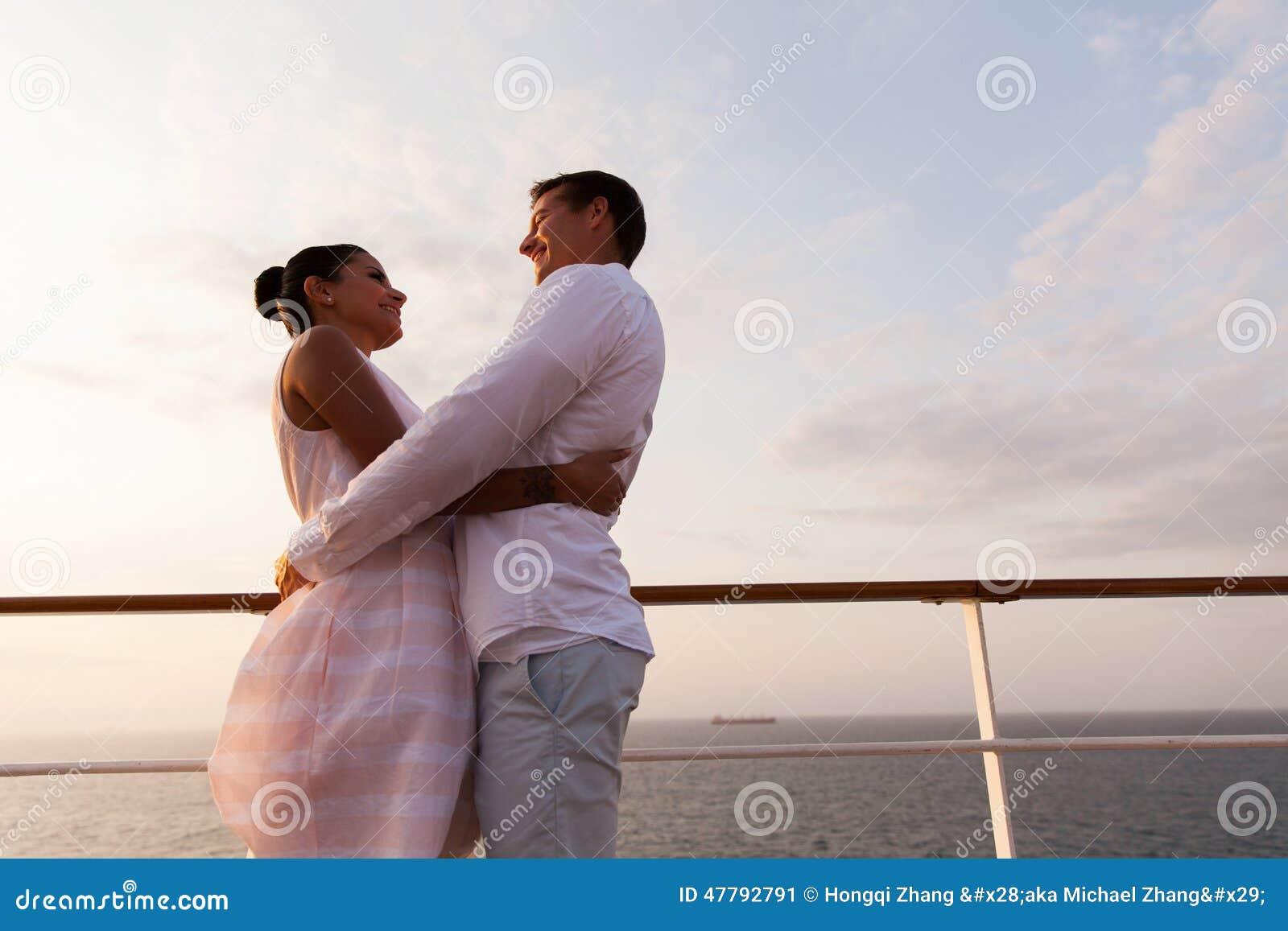 Couple cruise ship