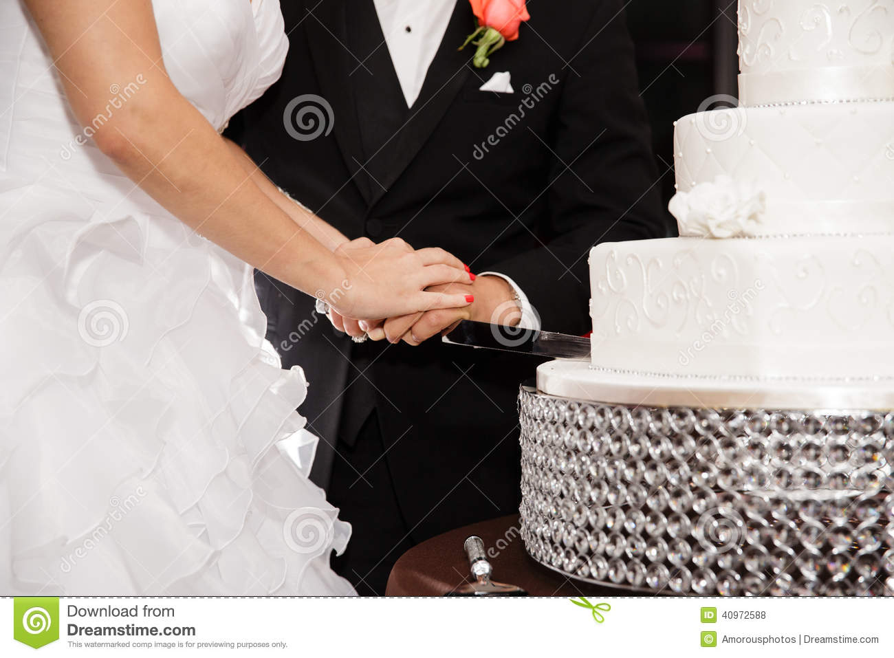 cutting a wedding cake cutting a wedding cake stock photo image of 13284