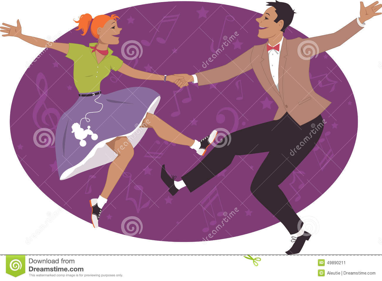 couple dancing 1950s style rock and roll stock vector rock and roll clip art free black and white rock and roll clip art free black and white
