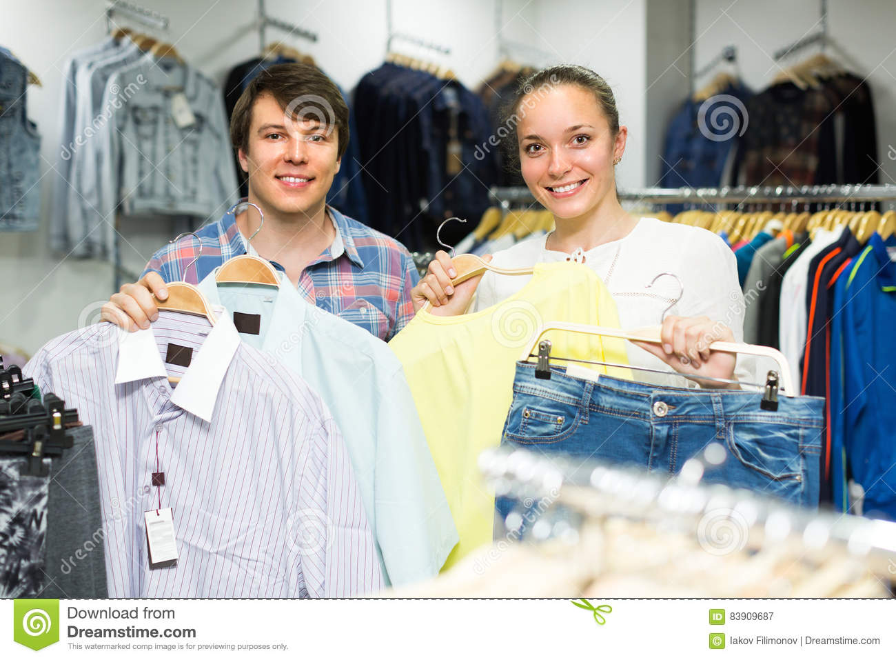 Couples clothing store