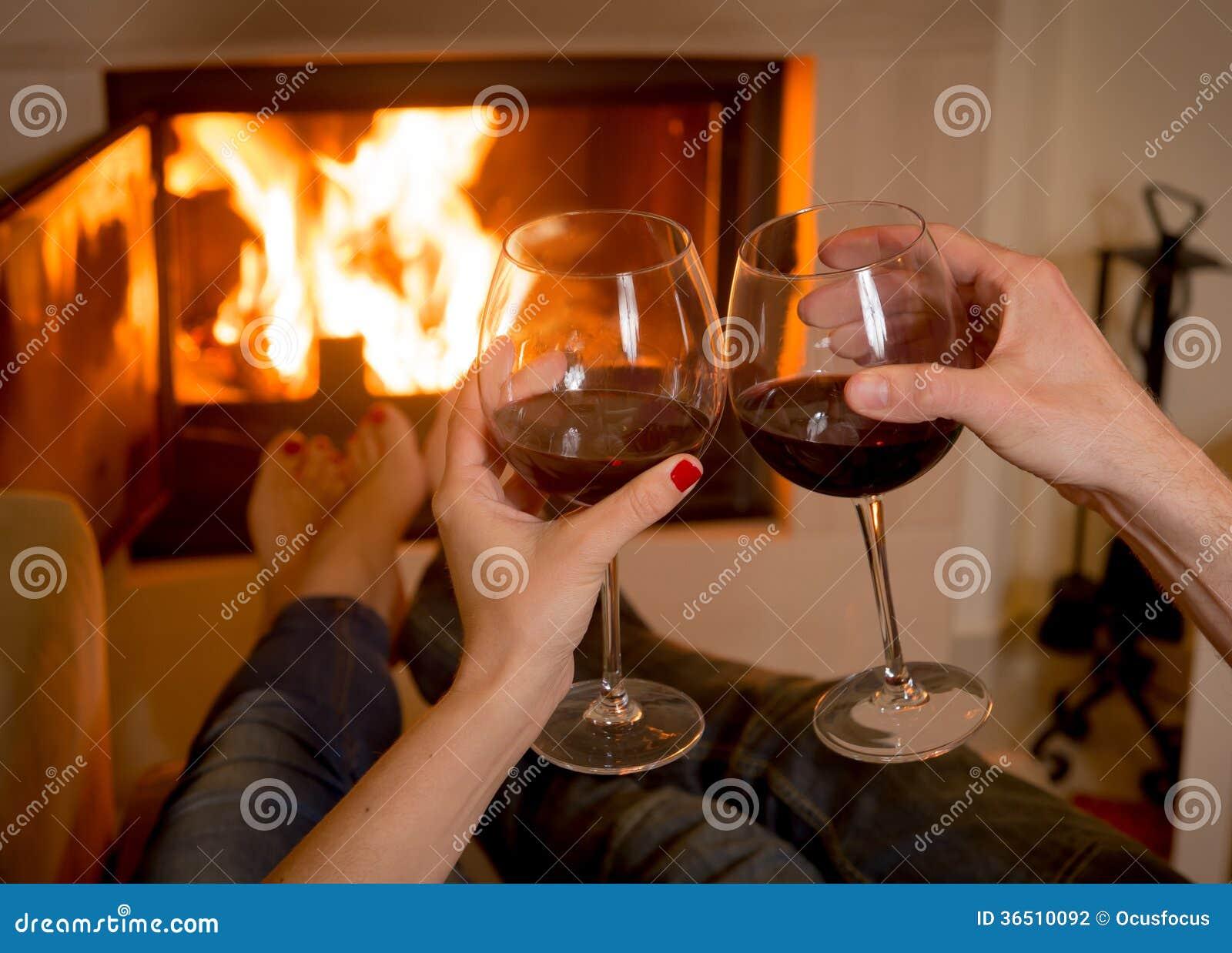 Cosy Wine Drinking
