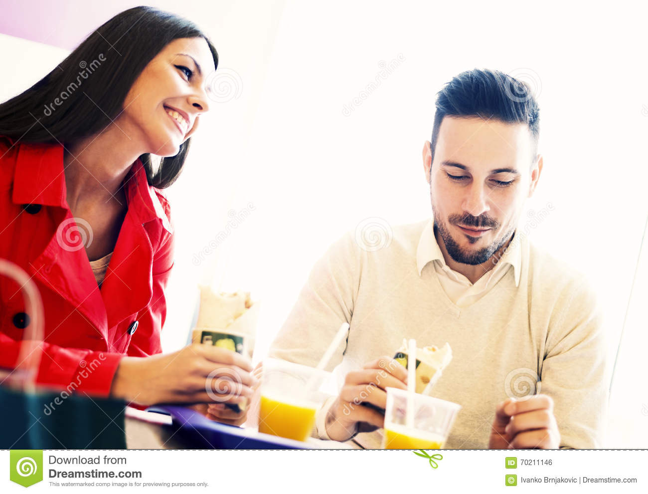 fast food dating