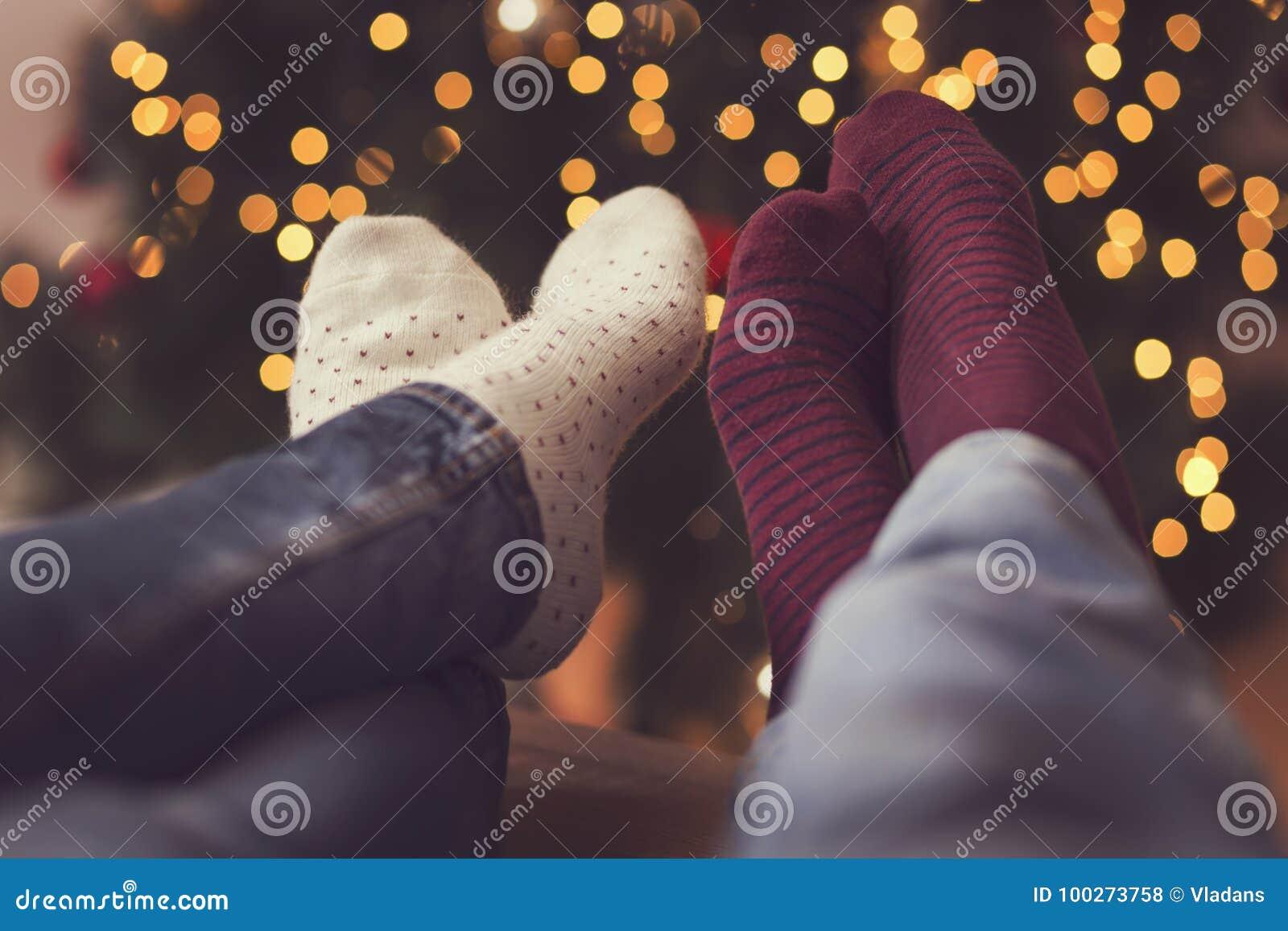 9326fc953a3 Couple enjoying Christmas stock photo. Image of girlfriend - 100273758