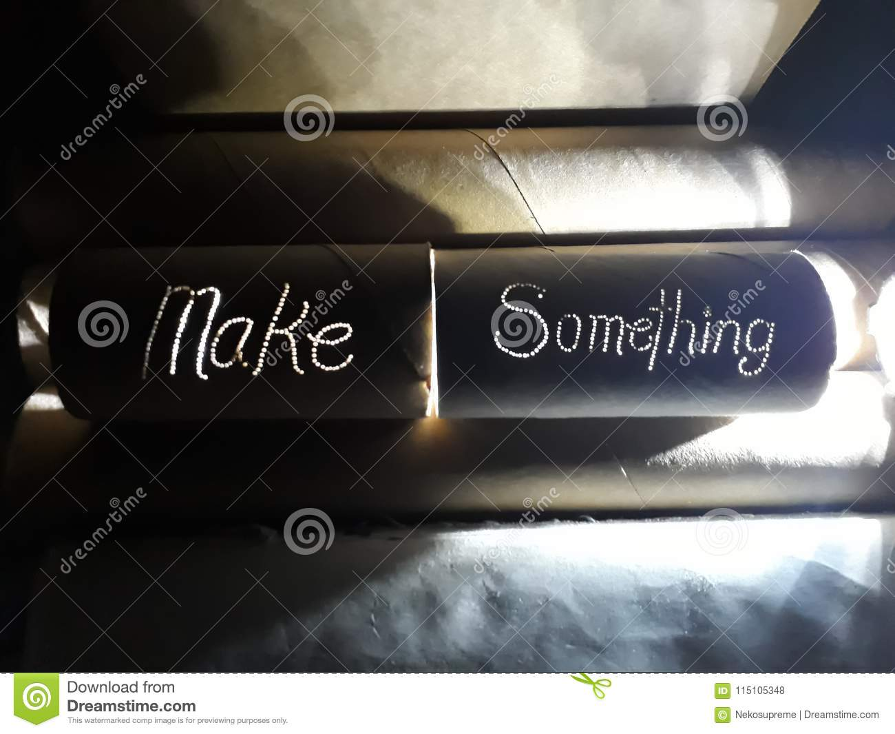 Make Something And Make It By Upcycling Stock Photo