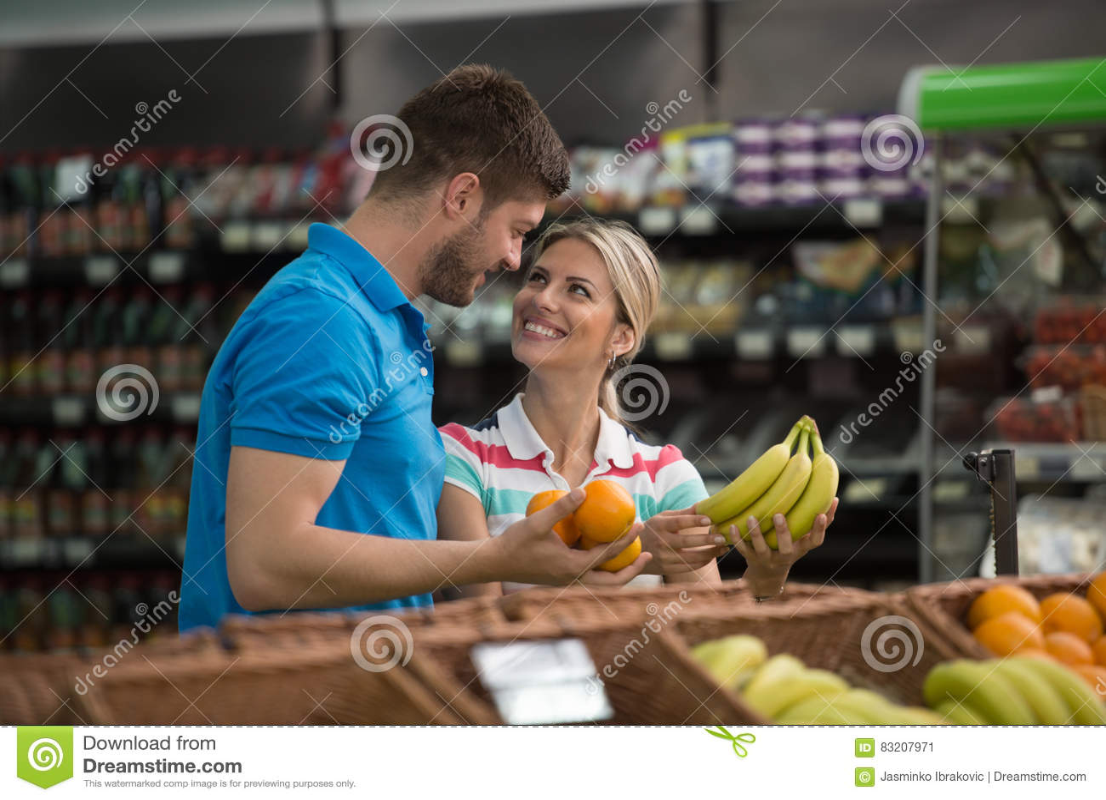 banana supermarket dating)