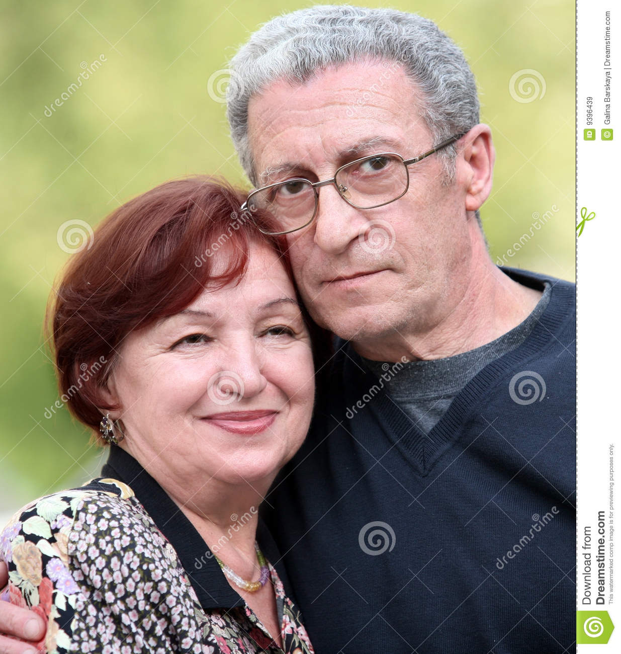 Couple happy mature