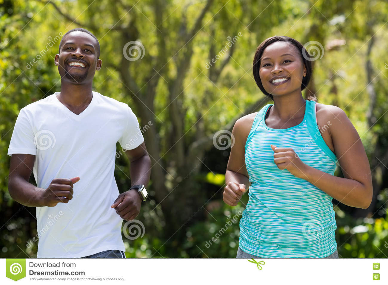 Couple happy posing together