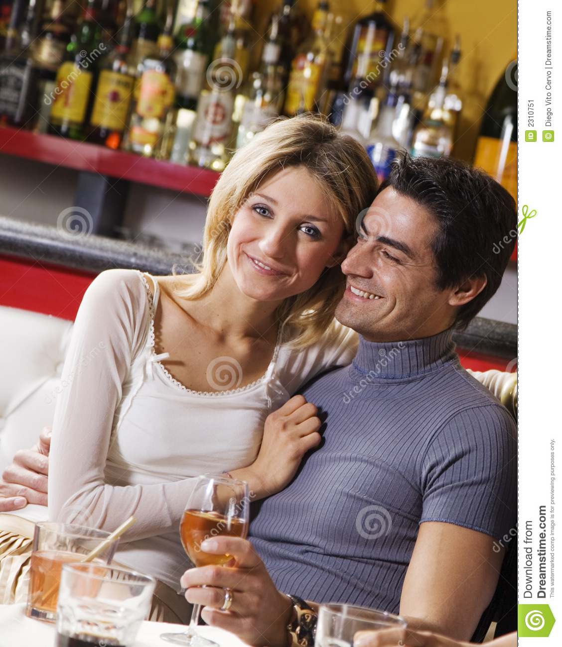 Couple Having Fun Together Stock Image. Image Of Cheerful