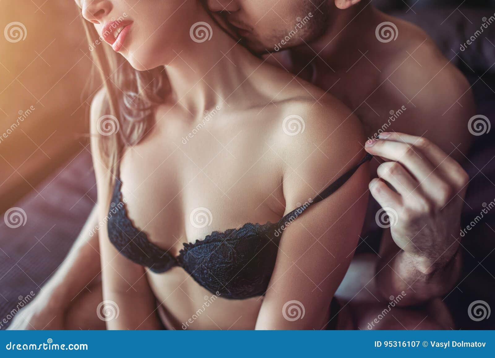 He fucks her deep from behind