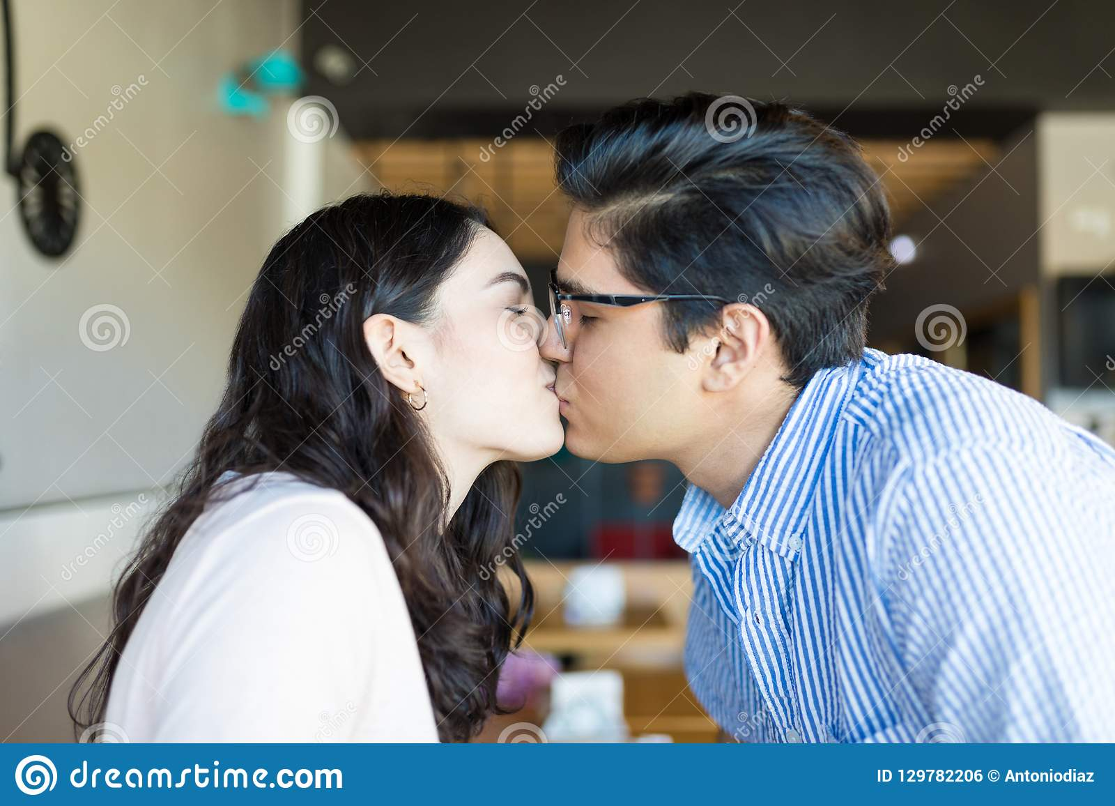 Their kiss have should When couple a first