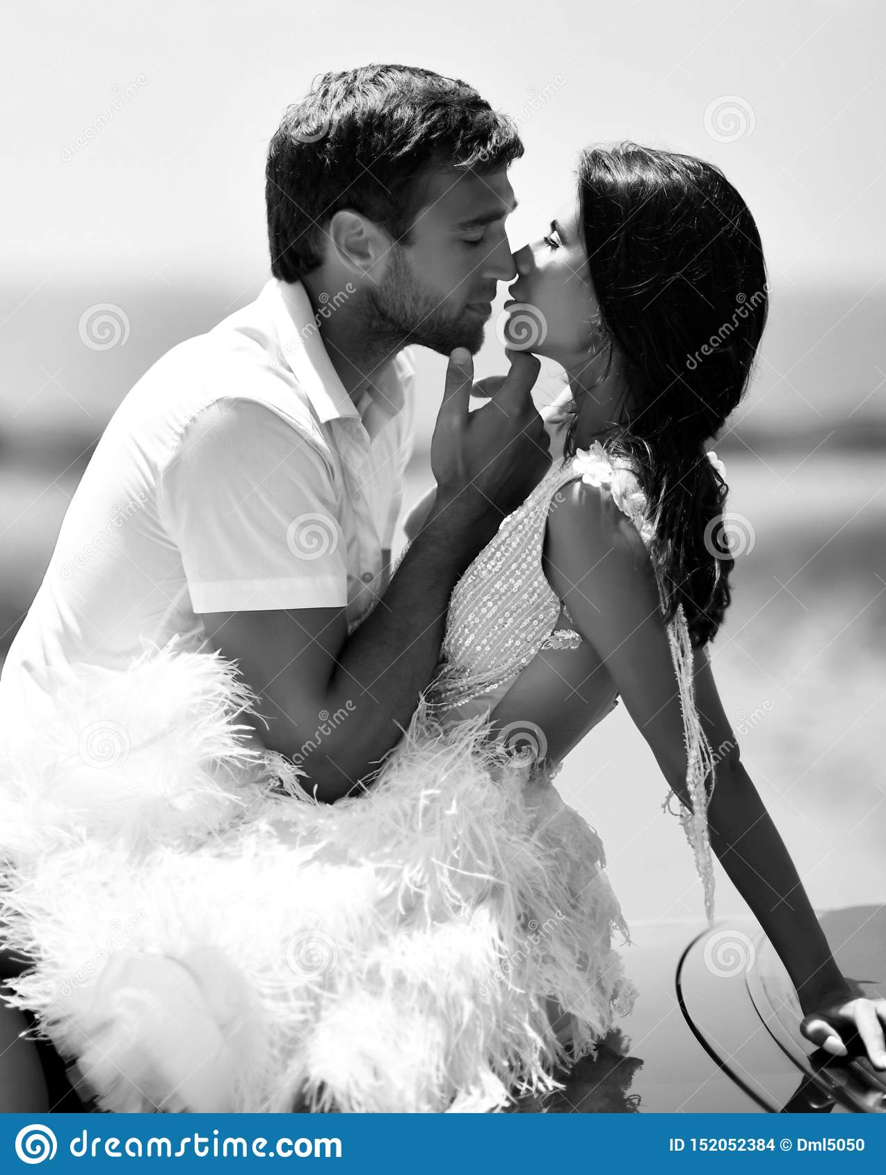 Couple Kissing Hugging Walking On A Road Together Hold Hands Romantic Vacation Honeymoon Love Story Stock Photo Image Of Couple Person 152052384