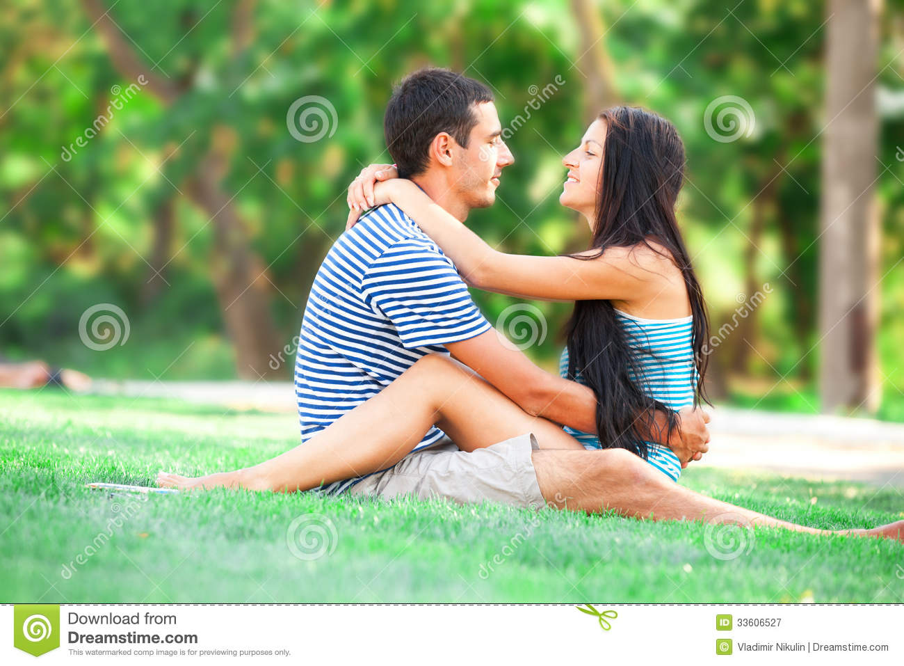 Teen outdoors young couples
