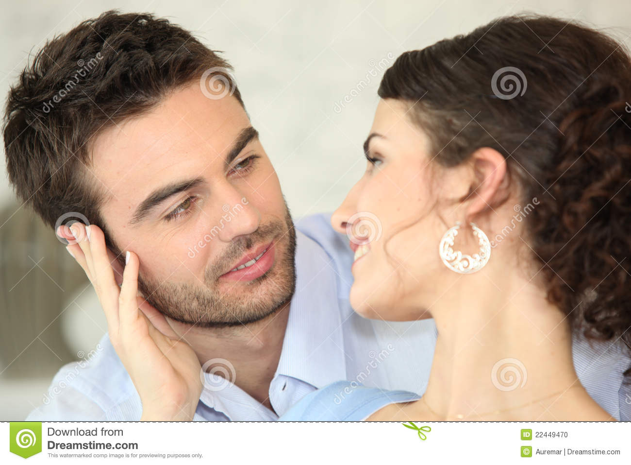 Couple Looking At Each Other Stock Photo Image 22449470