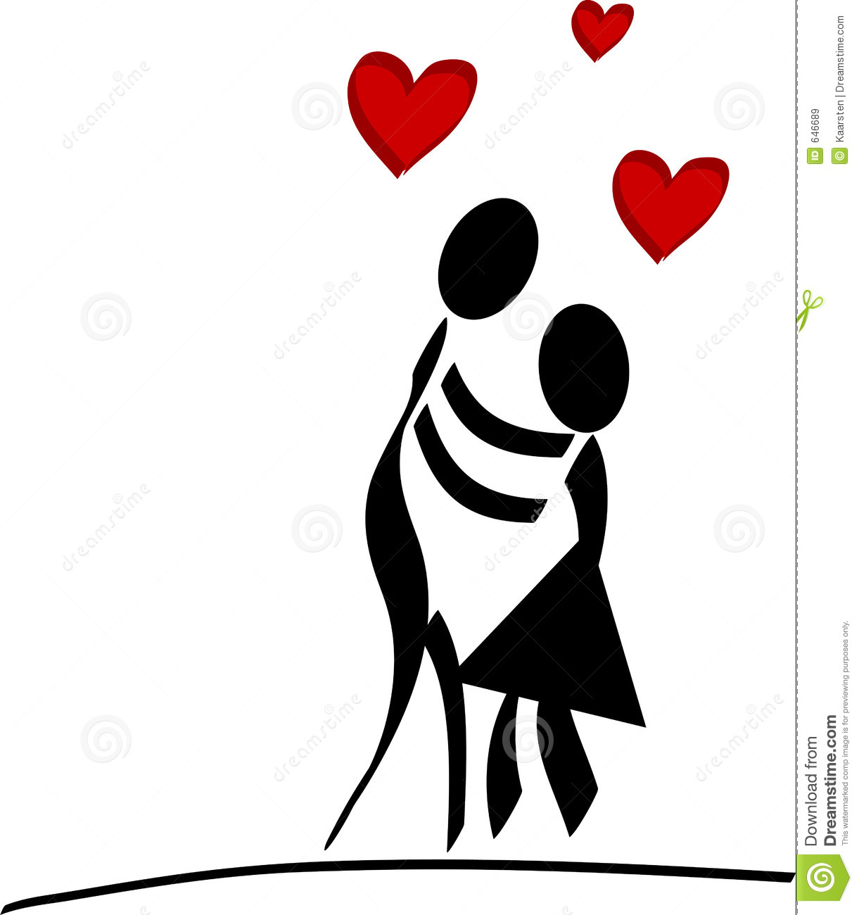 Couple In Love Royalty Free Stock Images - Image: 646689