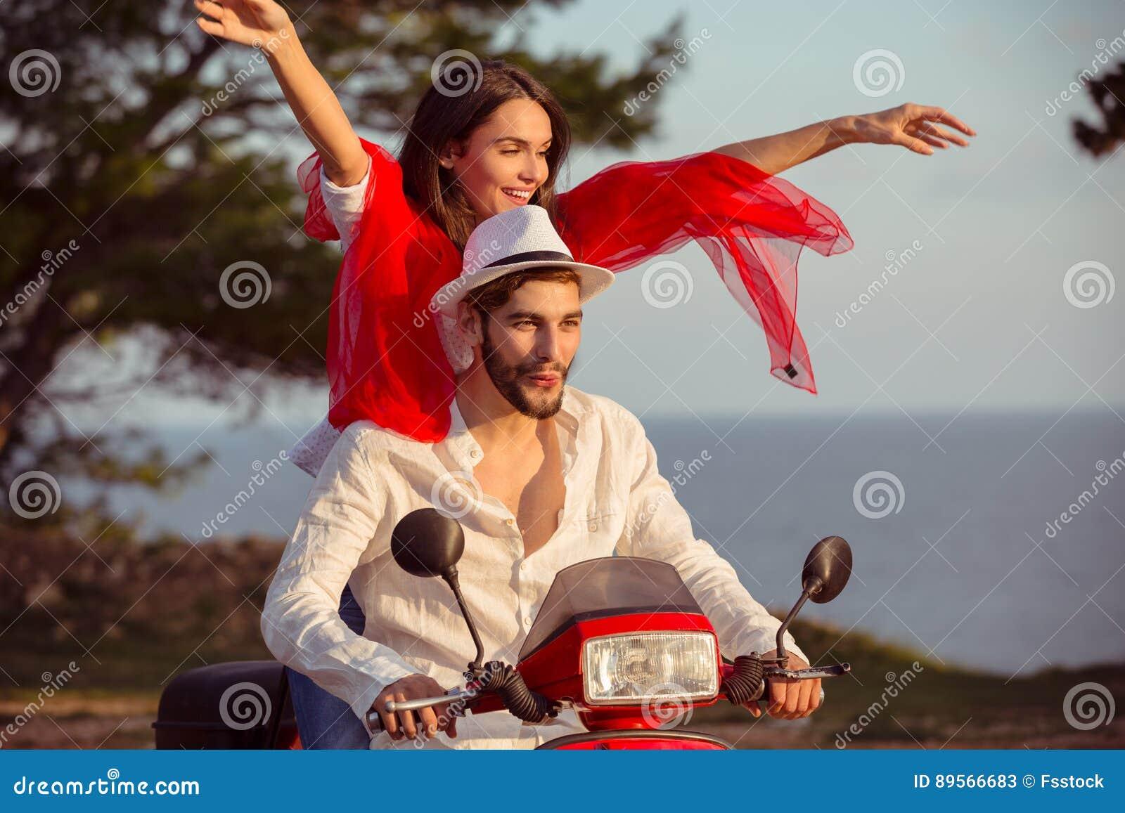 Motorbike sexy love