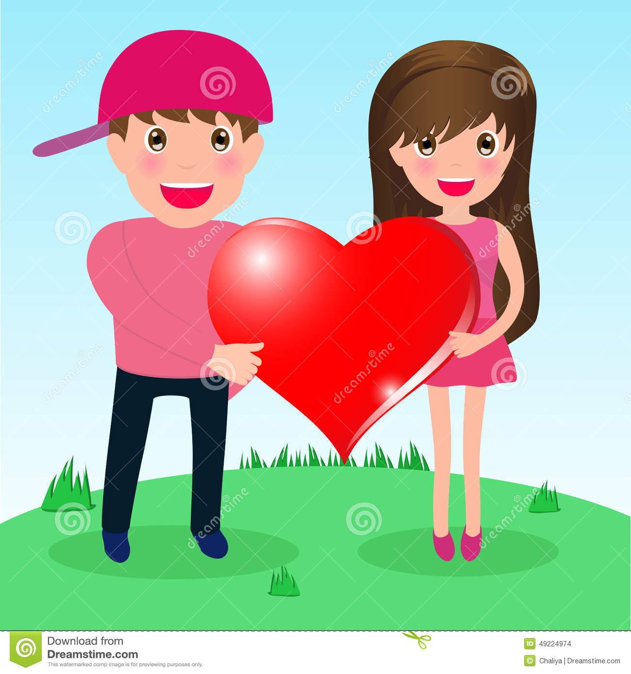 dating someone with a big heart