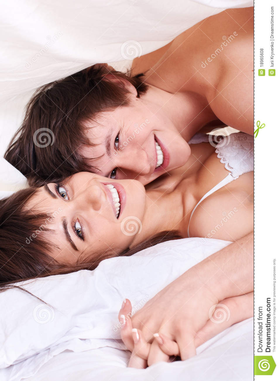 Couple Making Love In Bed Stock Photo Image Of Night