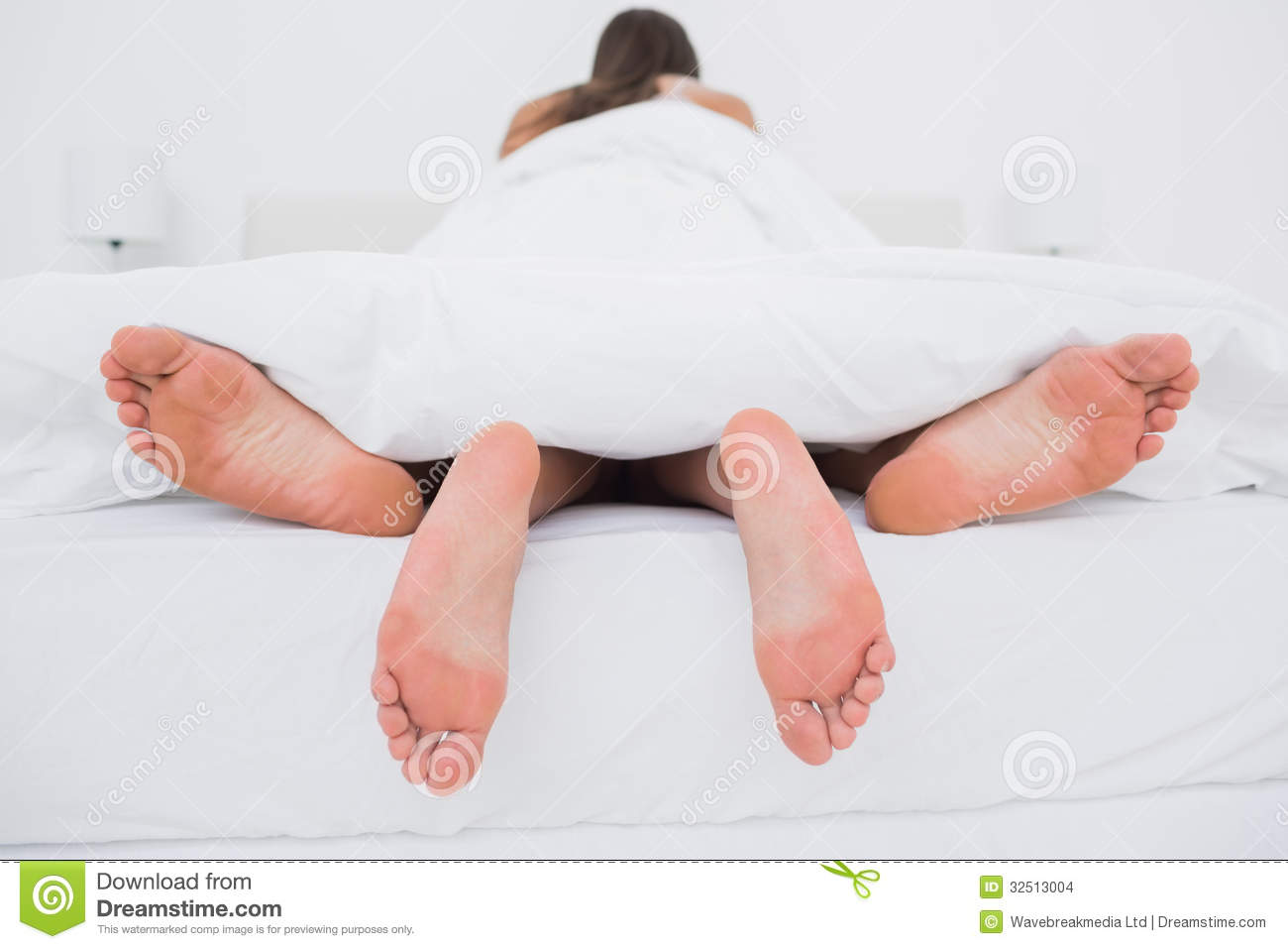 couple making love in bed stock images image 32513004
