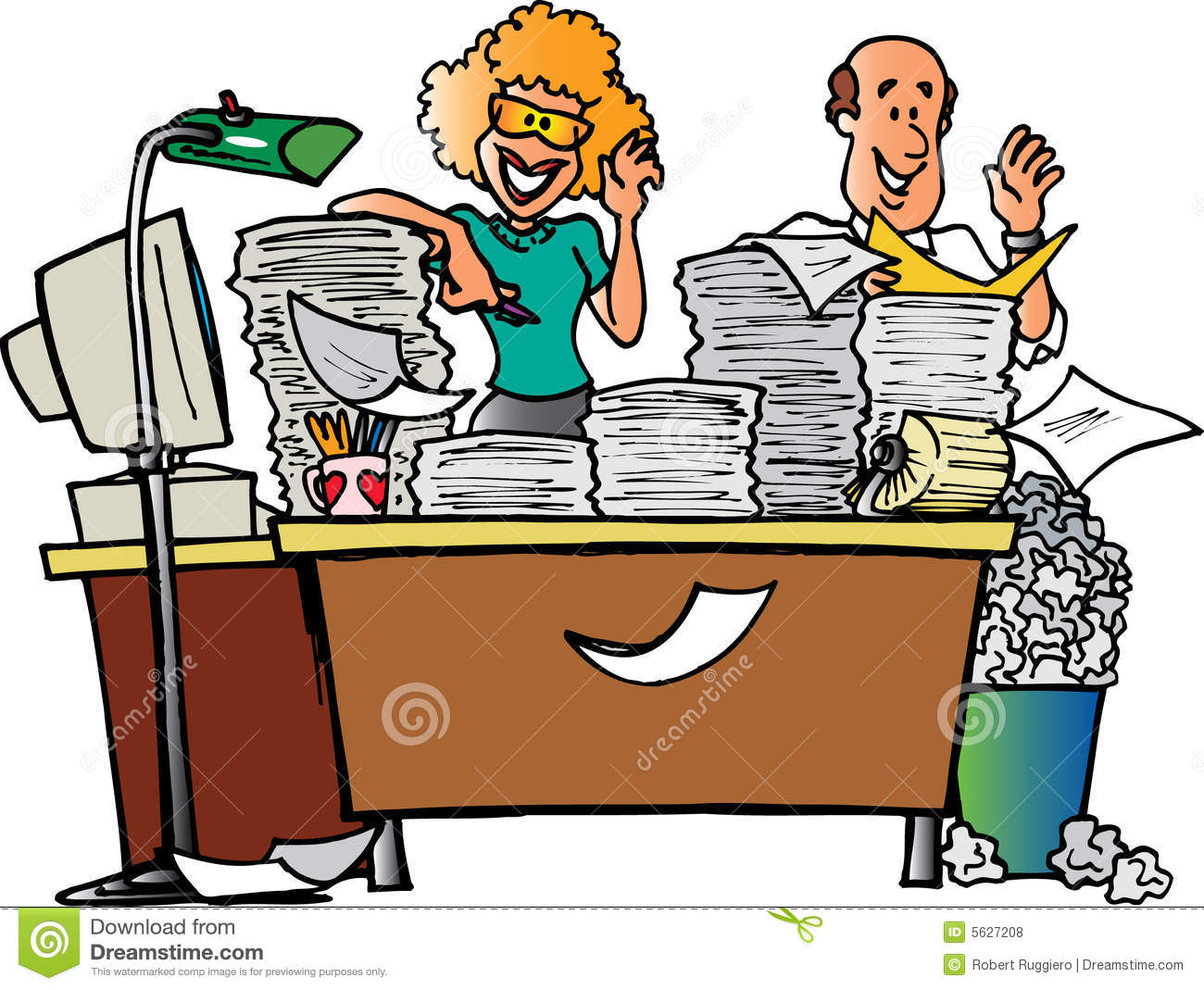 messy desk stock illustrations 764 messy desk stock illustrations rh dreamstime com