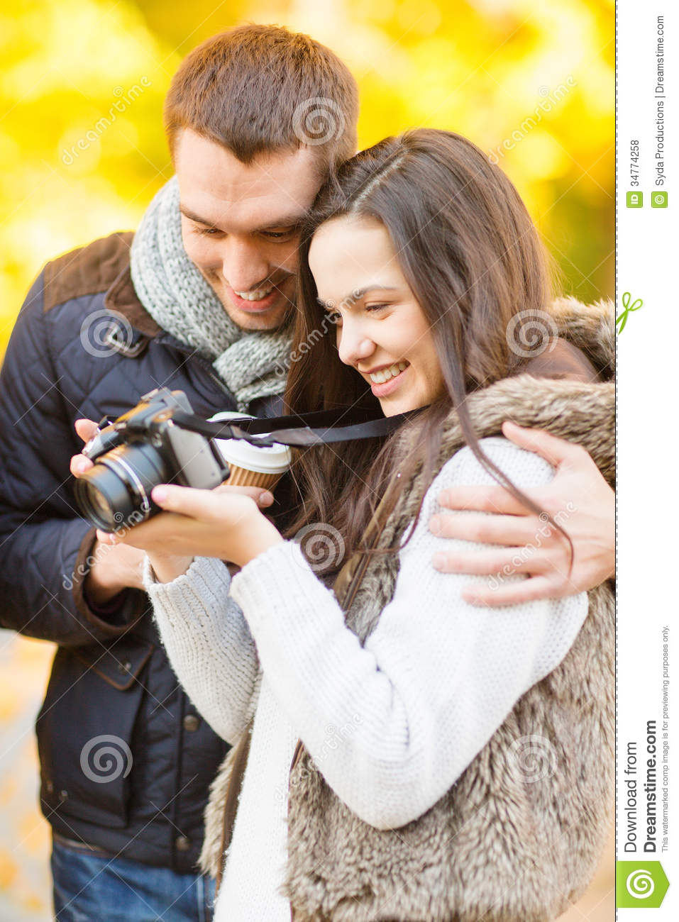 Dating couple photography