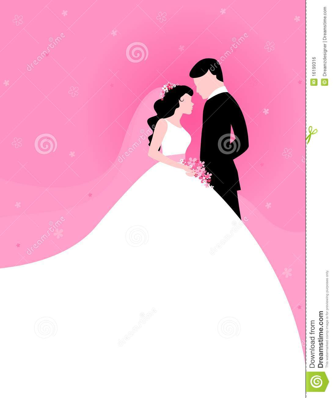 Couple With Pink Background Royalty Free Stock Image ...