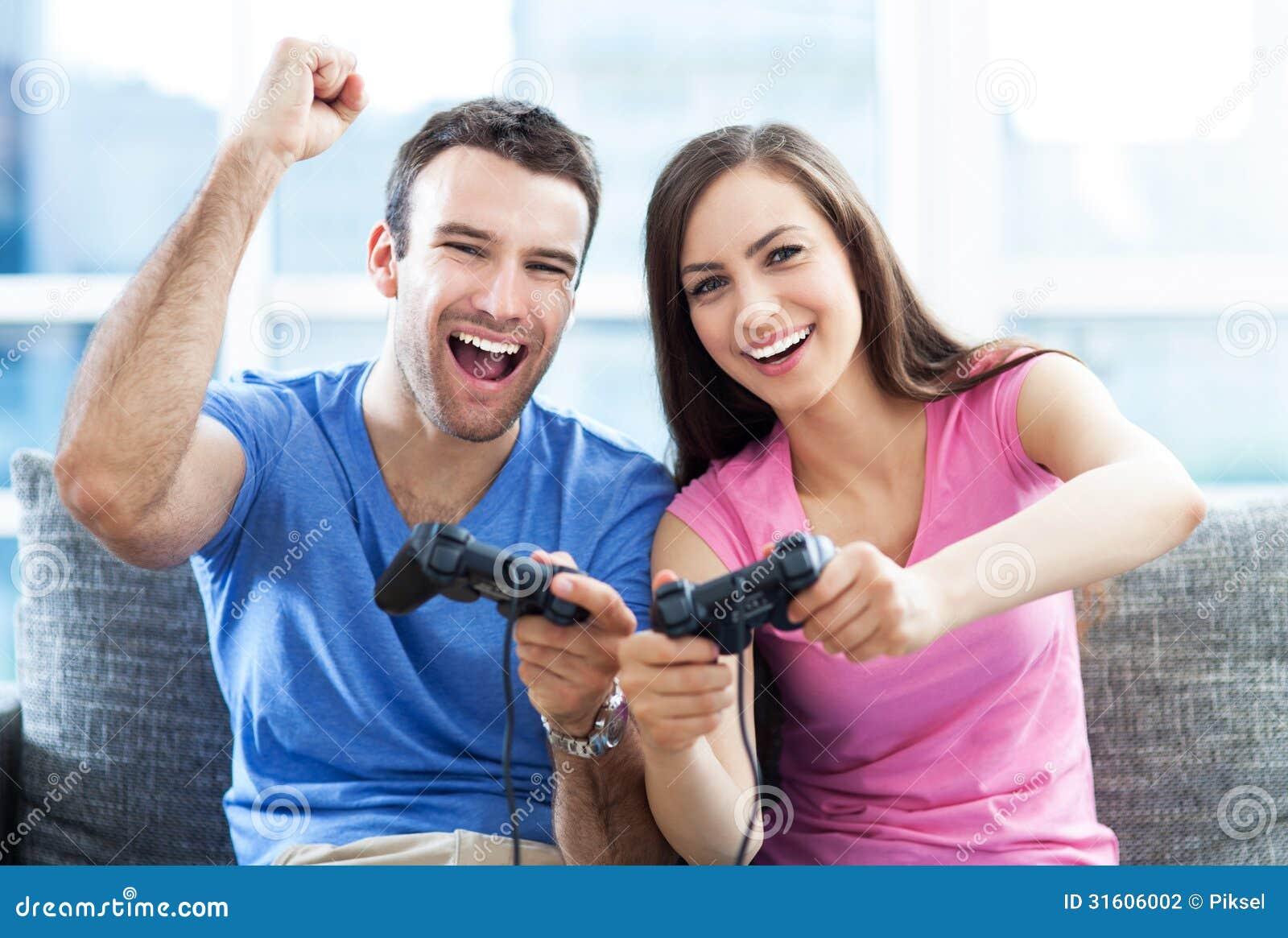 Webcam chat couple