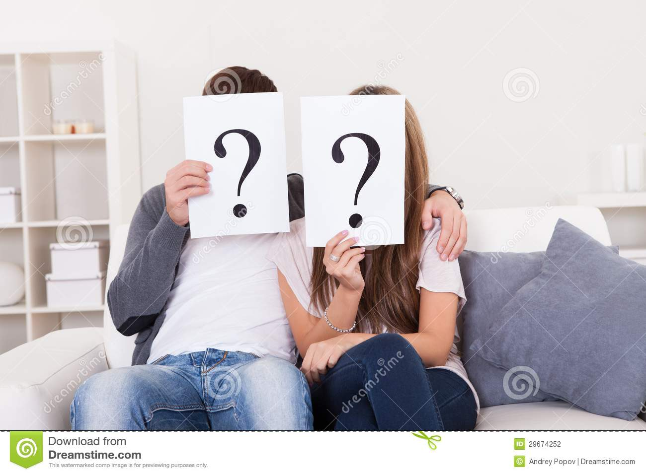 Image result for question mark and couple