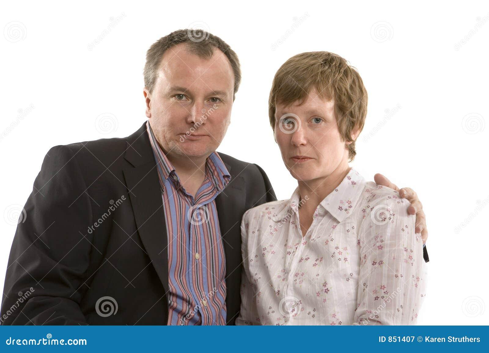 Couple serious
