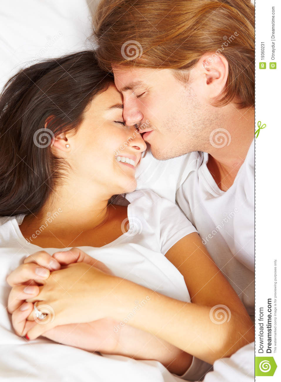 Couple Showing Romance On Bed Stock Image Image 19360231. Apply Romantic Bedroom Ideas For Romantic Couple Midcityeast