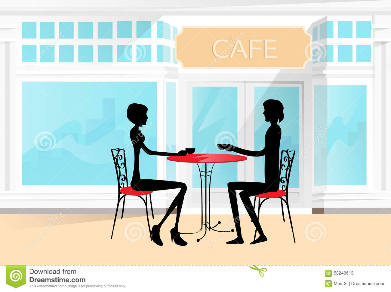 cafe dating videos