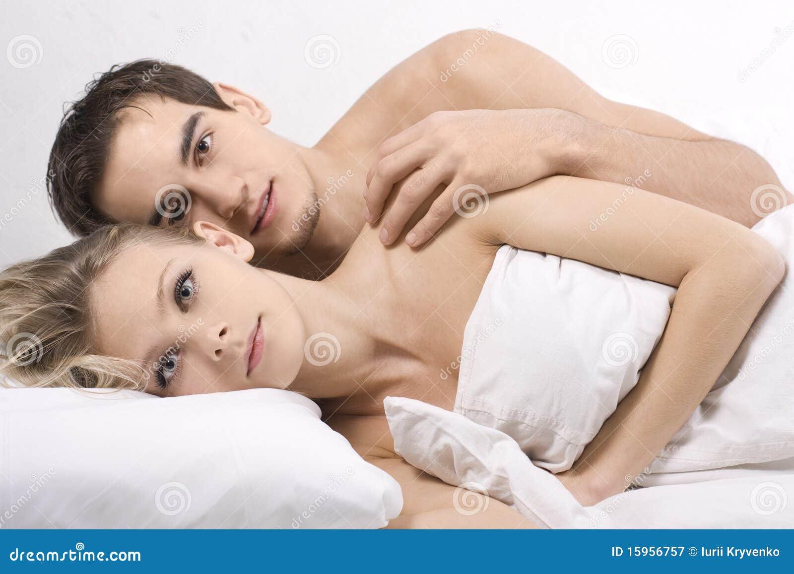 couples sleeping nude together
