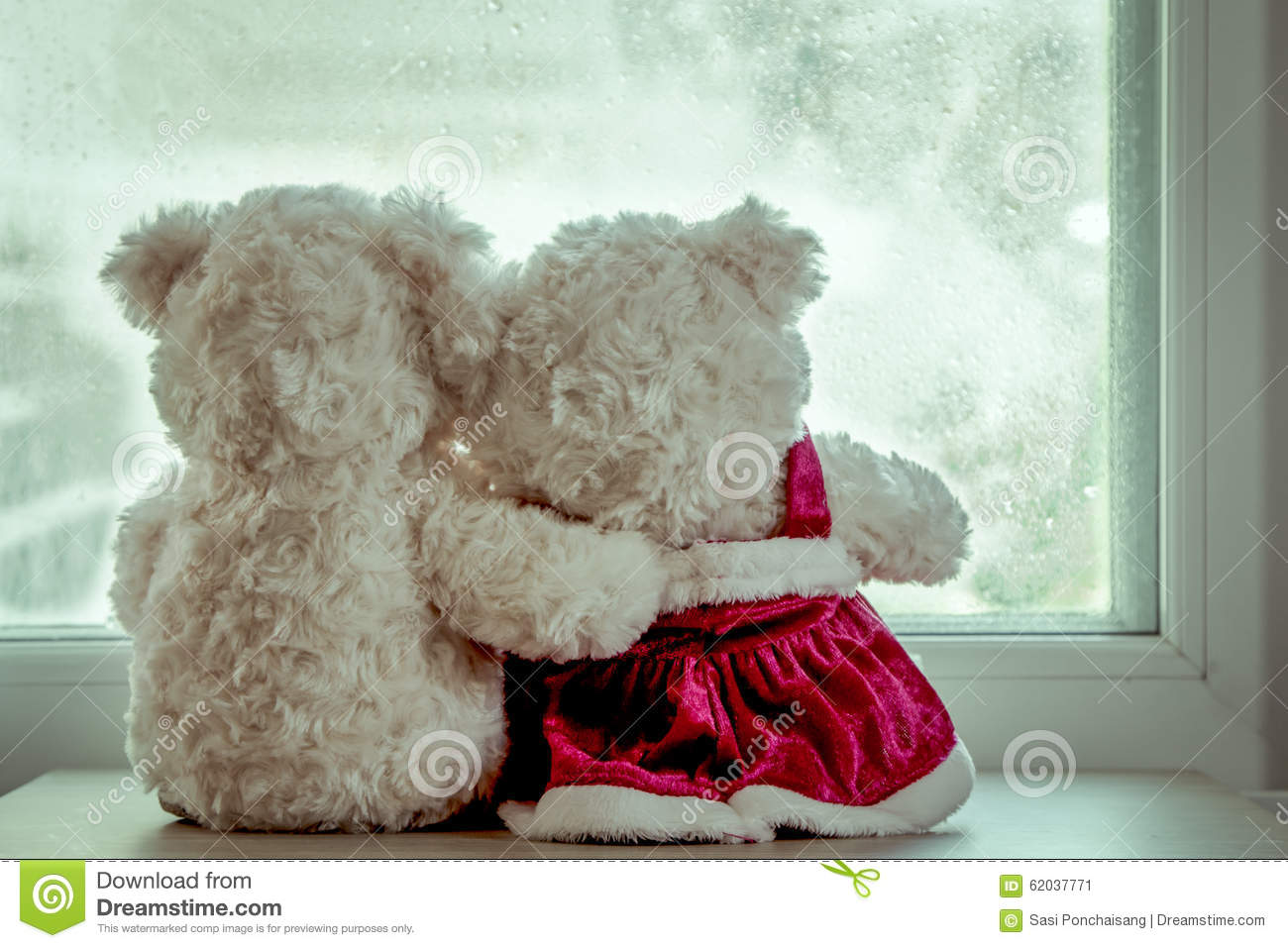 Cute teddy bears in loves embrace stock photo image of heart couple teddy bears in loves embrace stock image voltagebd Images