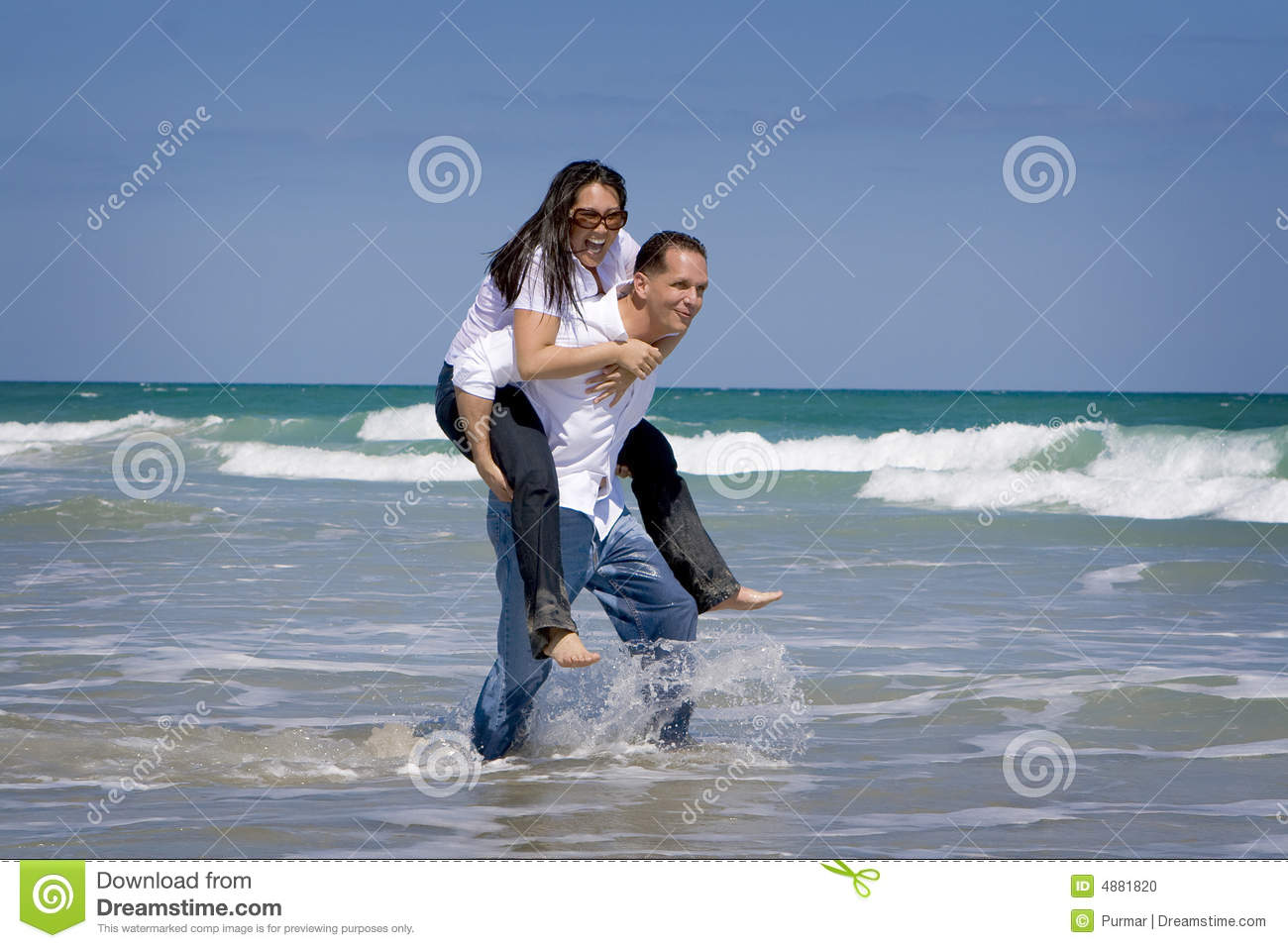Couple on vacation stock photo image 4881820 for Awesome vacations for couples