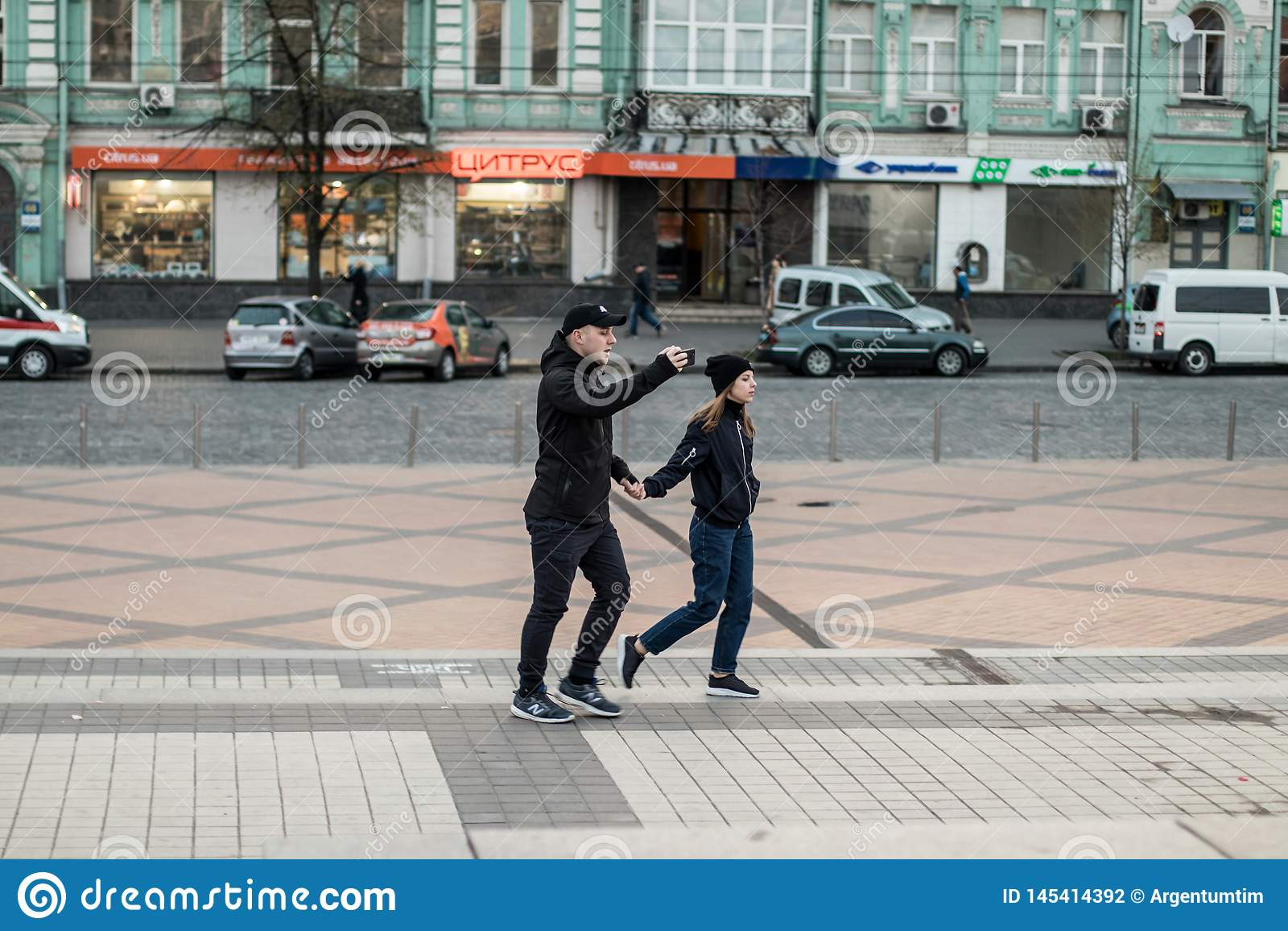 Kyiv, Ukraine 19 apr 2019. UA Presidential Debate 2019. Kyiv Olympiyskiy Stadium