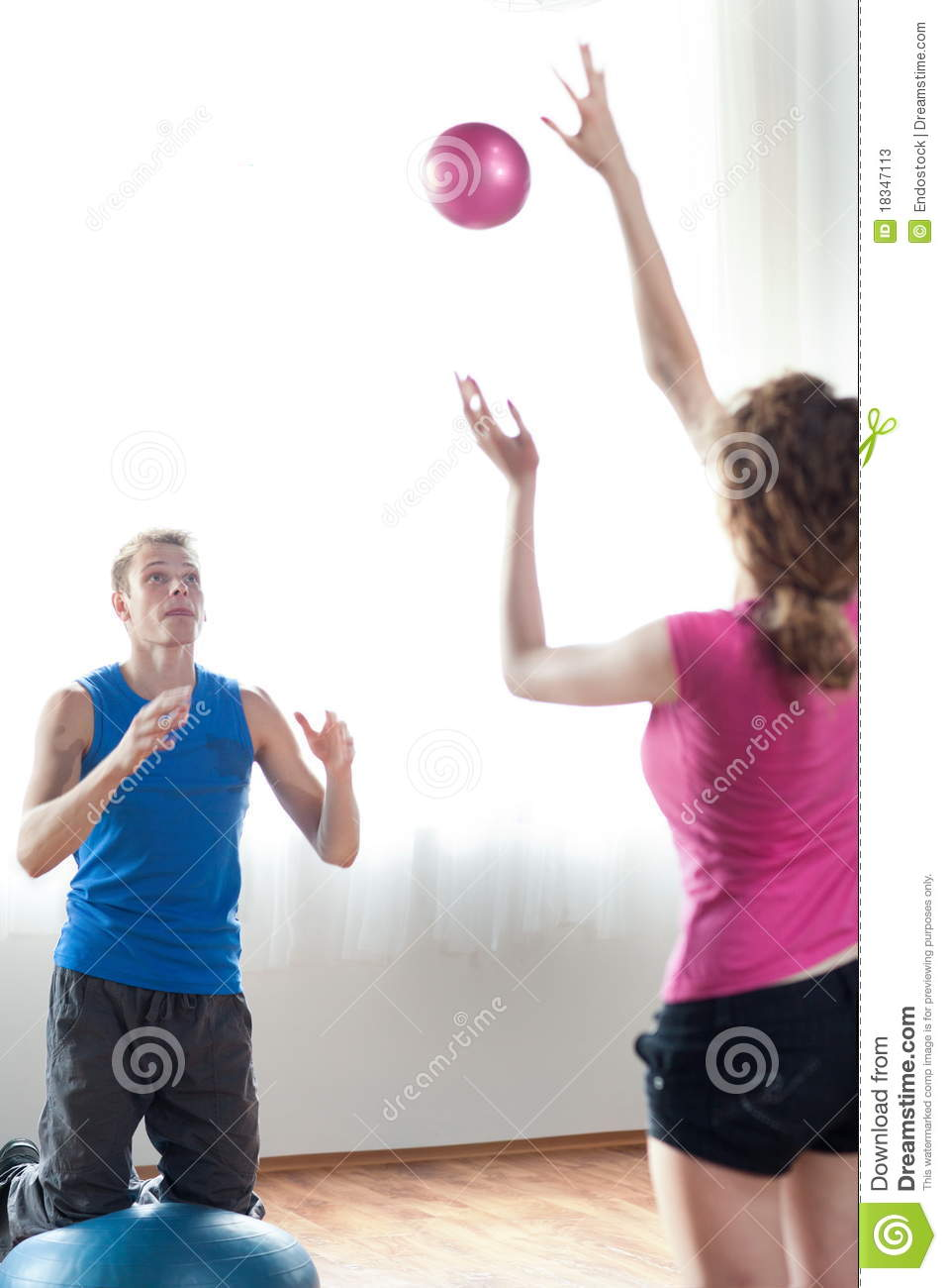 Couple Working Out Stock Image Image Of Athlete Core