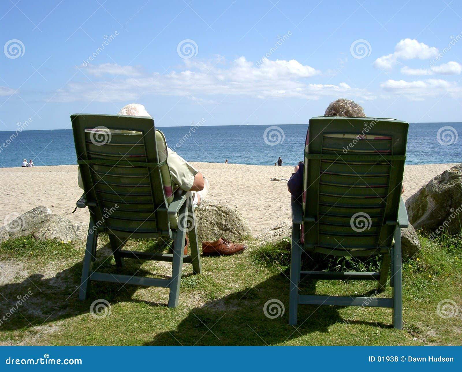 Couples à la plage