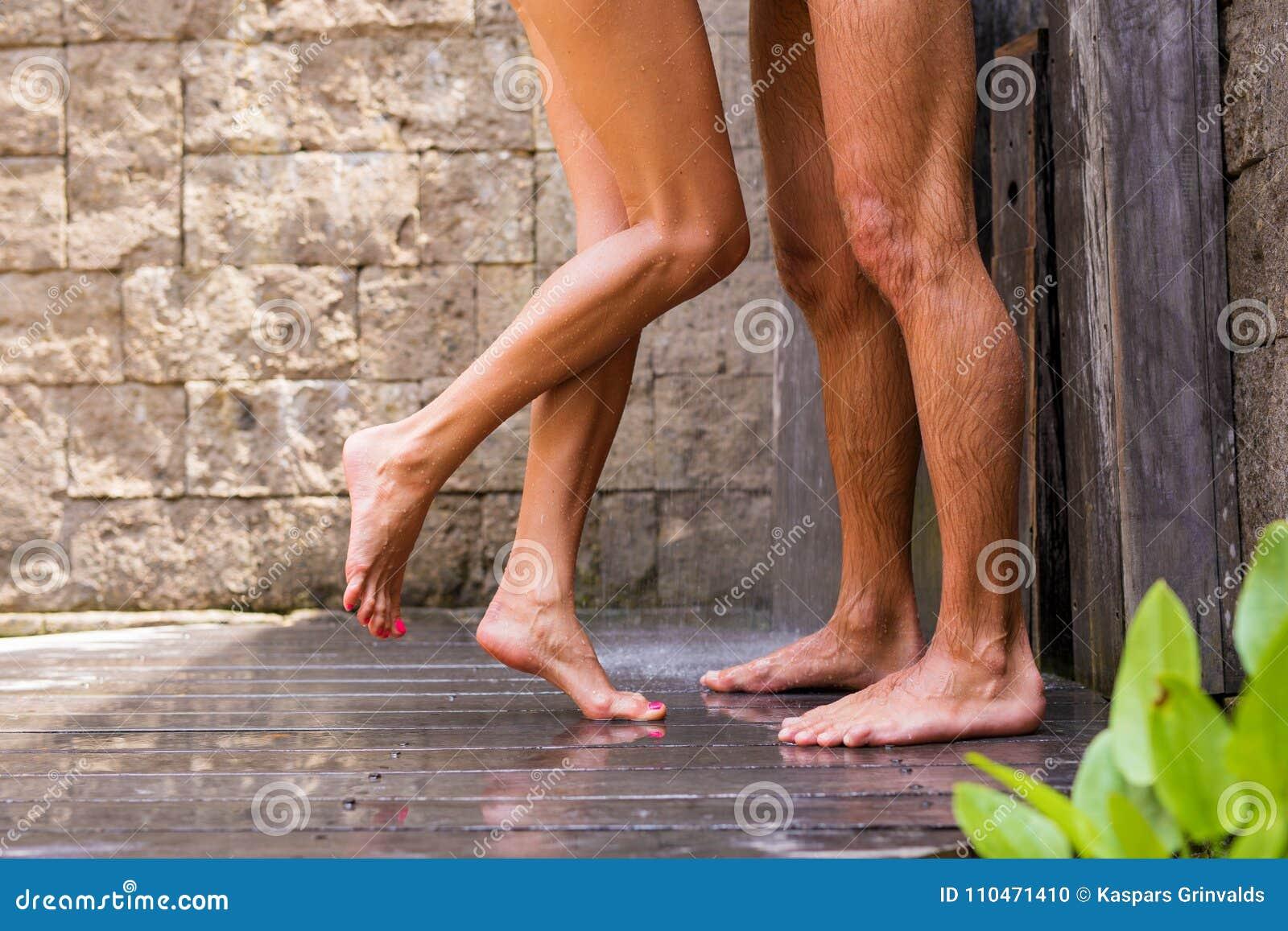 sexe dans les douches