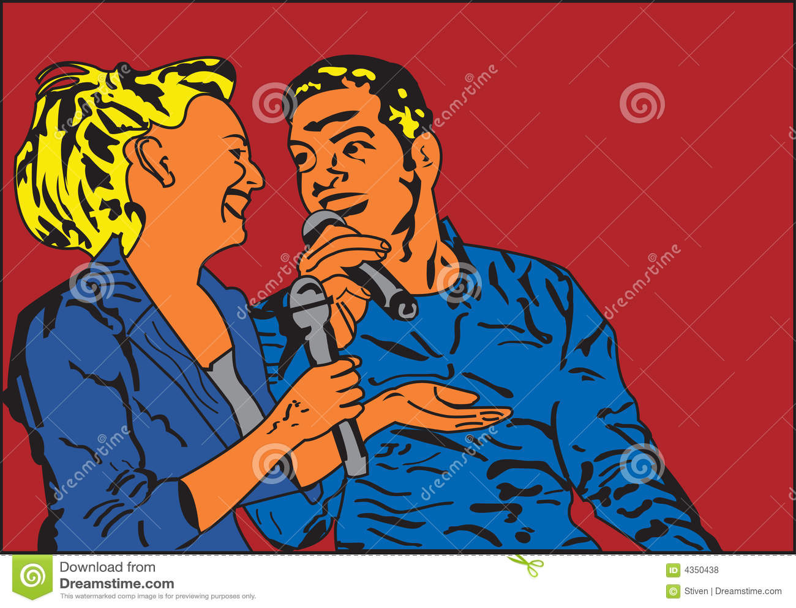 Couples de chant