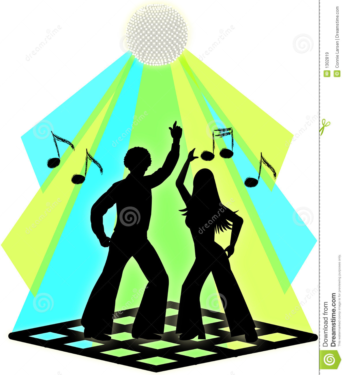 Couples de danse de disco images libres de droits image - Type de danse de salon ...