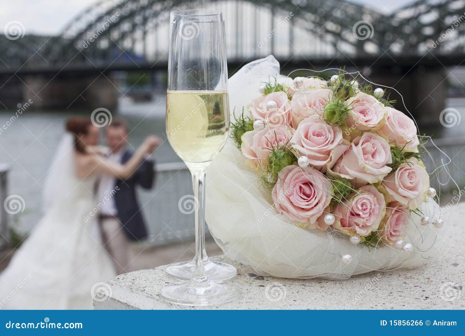 Couples de mariage de danse