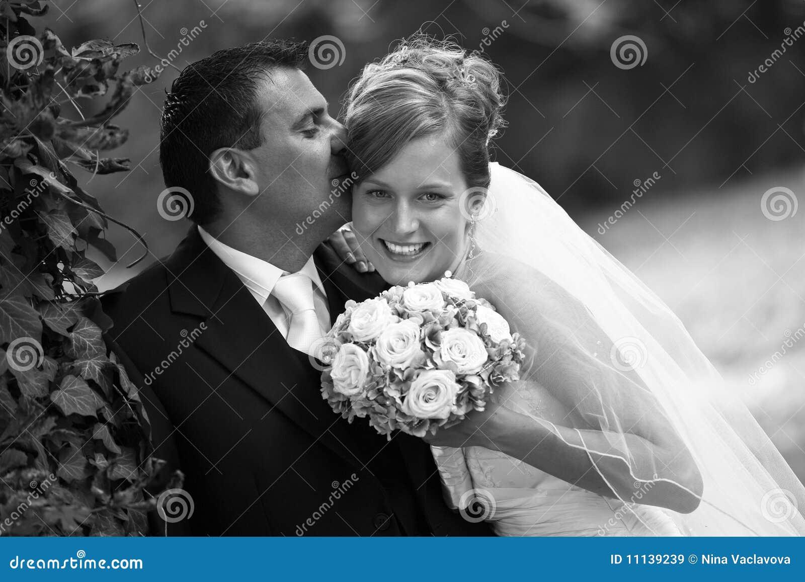 Couples de mariage rétro