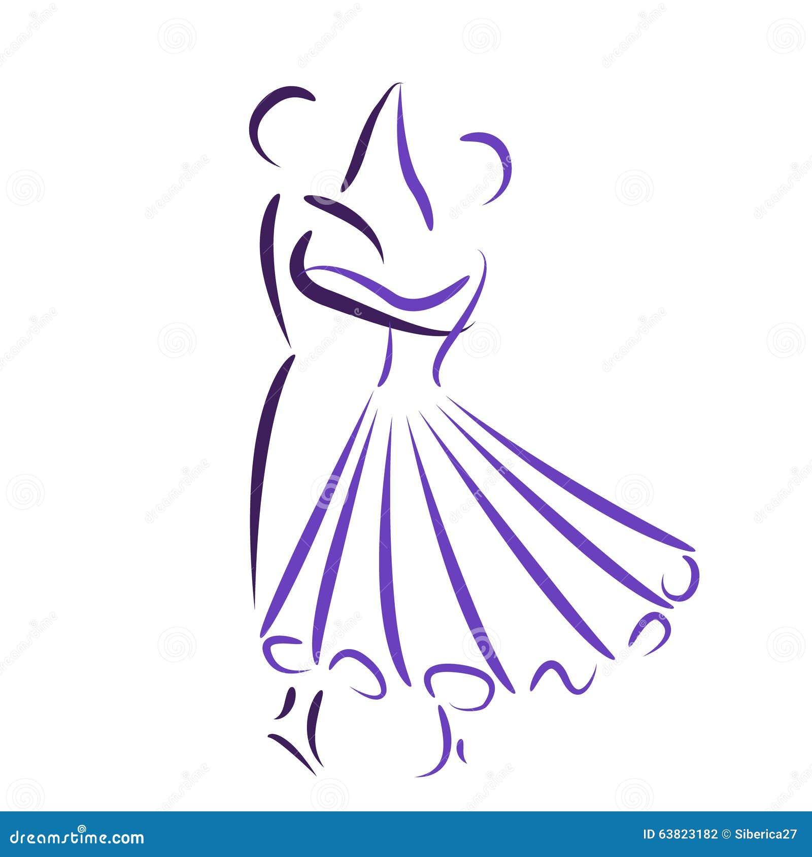 Couples De Valse De Danse Illustration De Vecteur