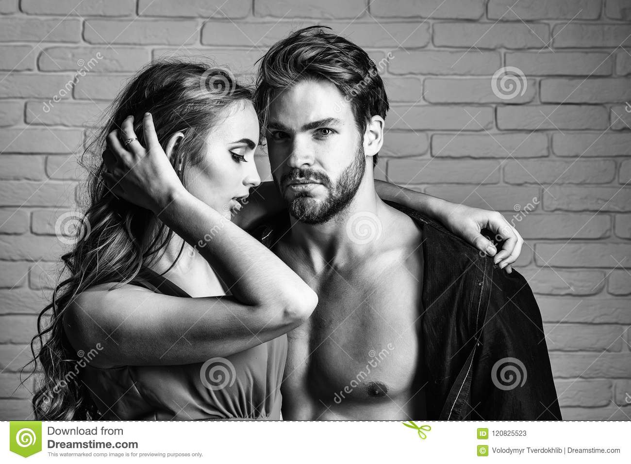 Sexy couples in love