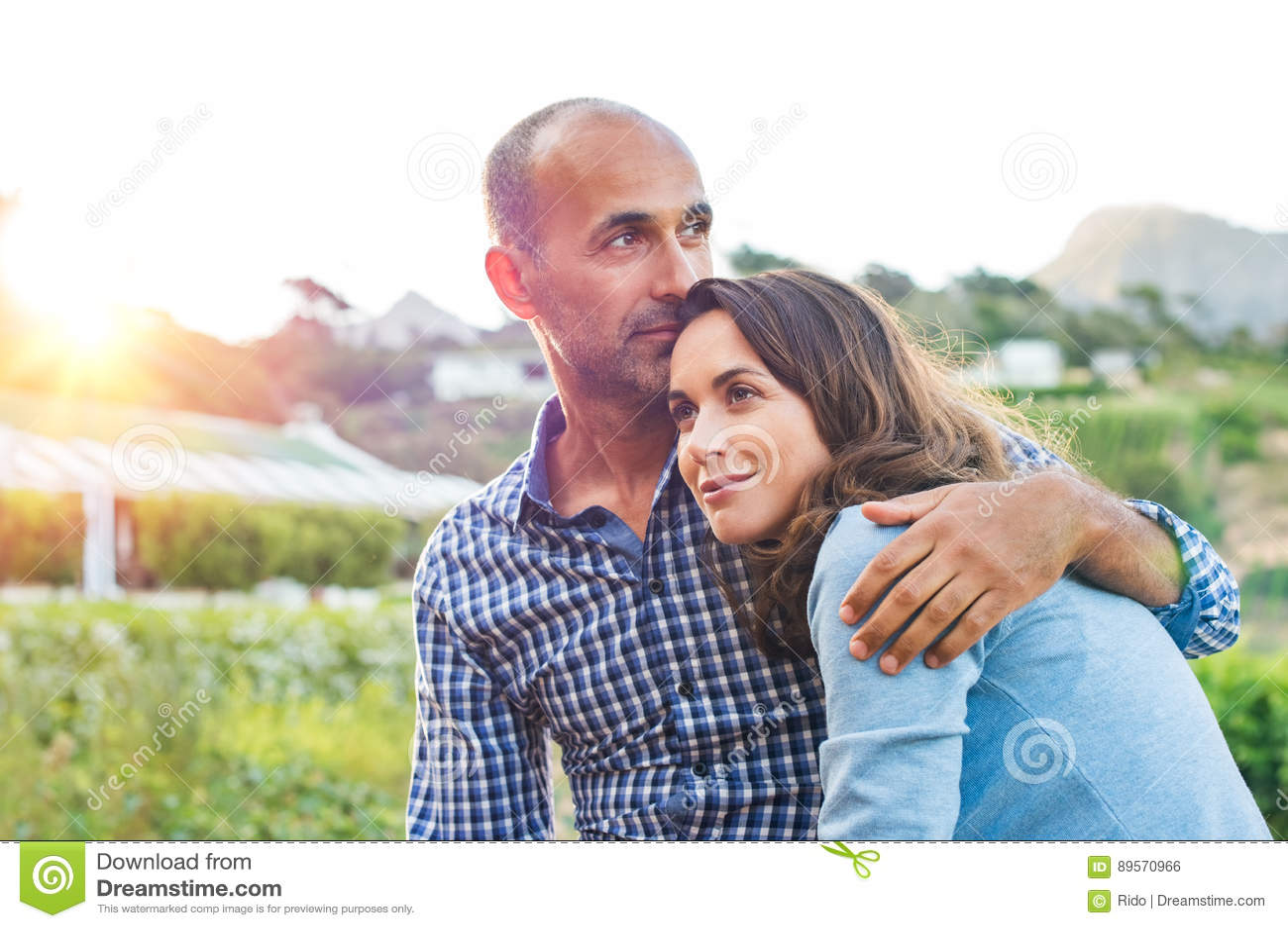 Couples mûrs dans l amour