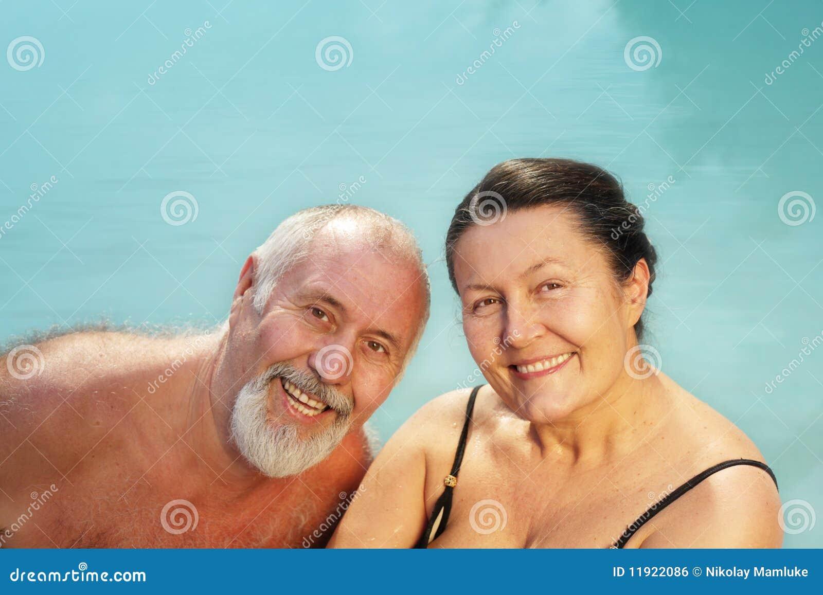 Couples plus anciens sains