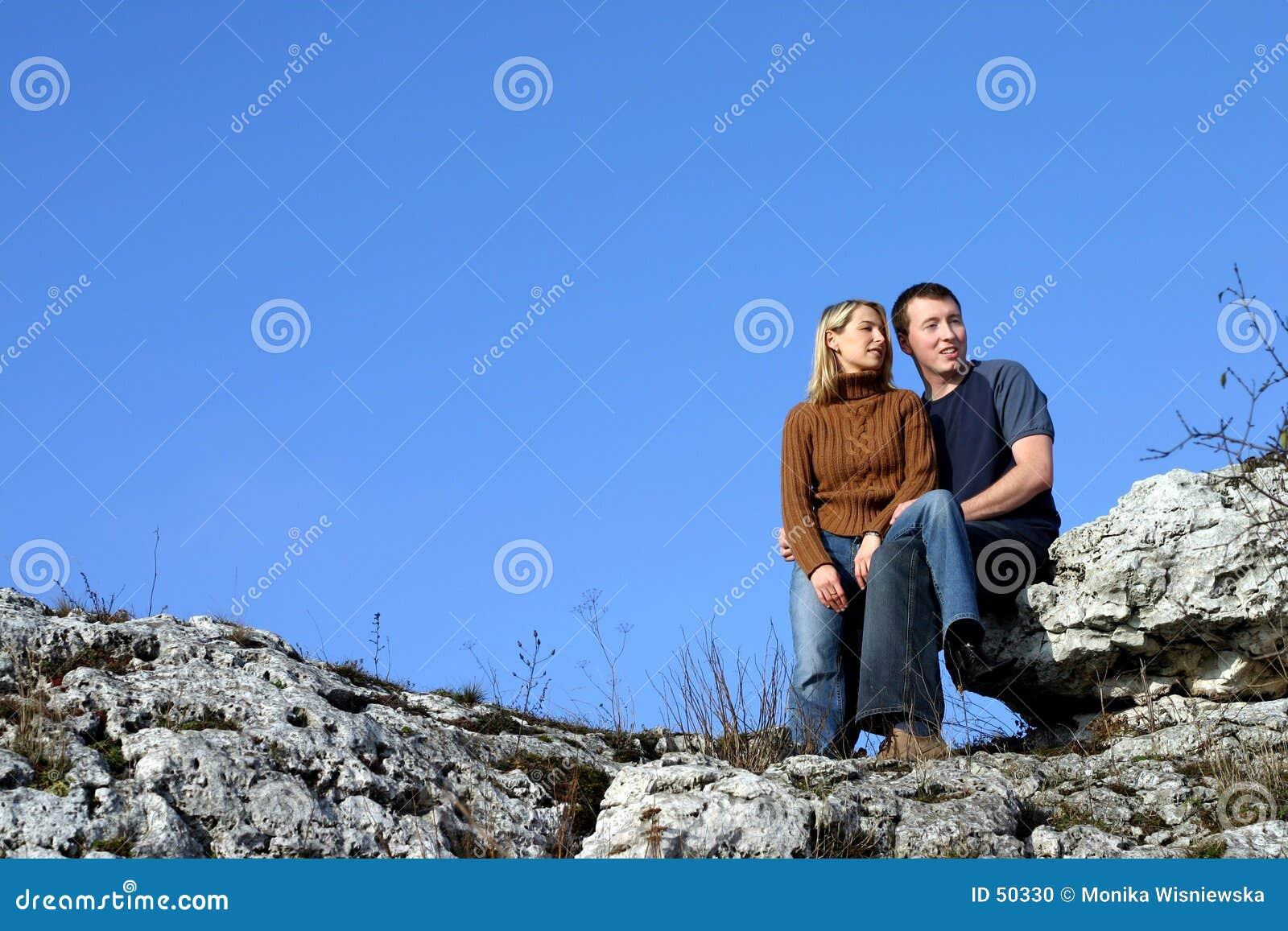 Download Couples - se reposant photo stock. Image du amis, deux, associés - 50330