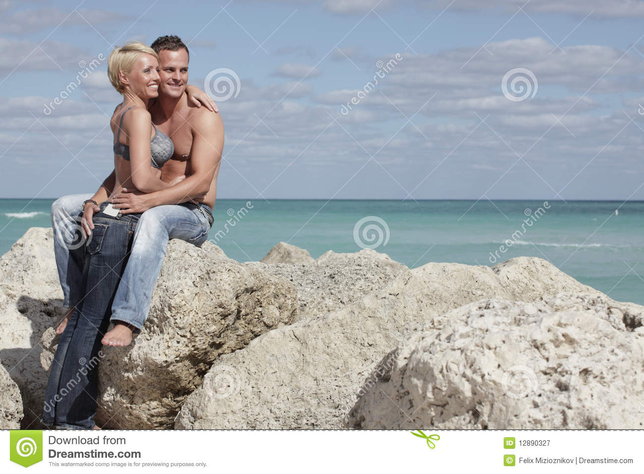 Couple Sexy Plage couples sexy à la plage image stock. image du outside - 12890327