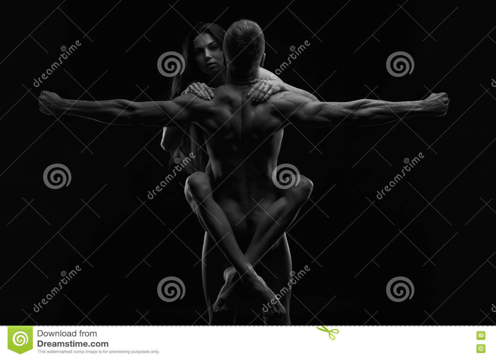 Photos d'hommes nus noirs