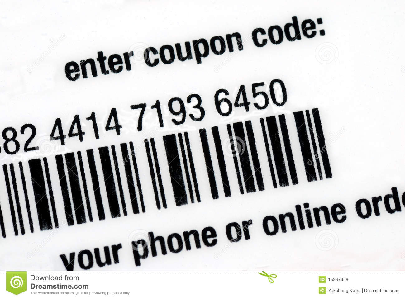 Discount merchant coupon code